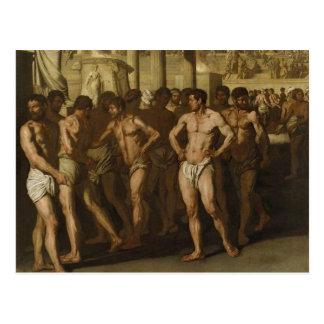 The Gladiators Postcard