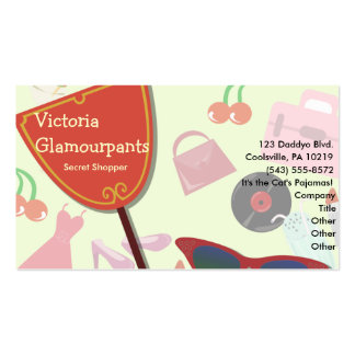 The Glam Life Business Card