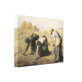The Gleaners, 1857 Canvas Print