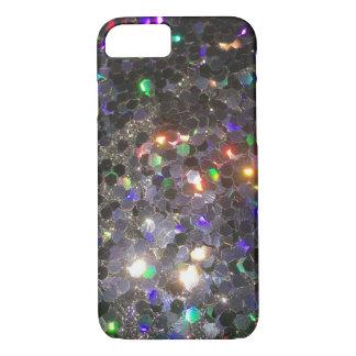 The Glitz Glitter Black Hologram Cell Phone Case