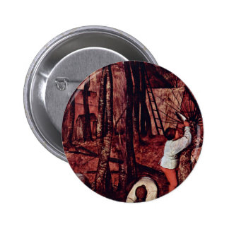The Gloomy Day Month Of February Or March Detail Button