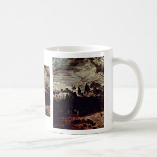 The Gloomy Day (Month Of February Or March) Detail Coffee Mug