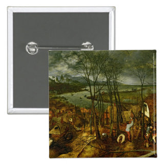 The Gloomy Day - Spring, 1559 15 Cm Square Badge