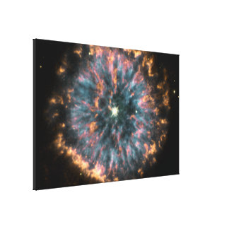 The Glowing Eye of Planetary Nebula NGC 6751 Stretched Canvas Print