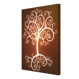 The Glowing Tree Canvas Prints