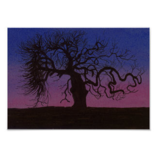 The Gnarly Tree Poster
