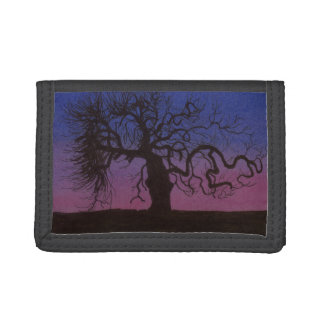 The Gnarly Tree Tri-fold Wallets