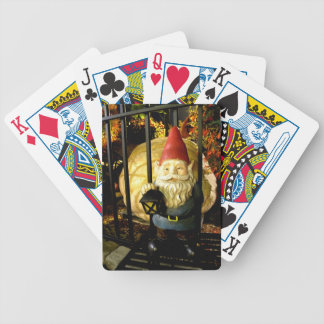 The Gnome and The Giant Bicycle Playing Cards
