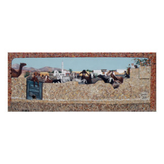 The Goat Wall - Dahab, South Sinai Poster