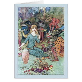 The Goblin Market, Card