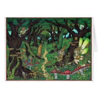 The Goblin Wood, Fairy Woodland Card