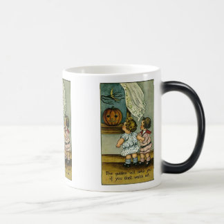 The Goblins Will Catch You Vintage Halloween Mug