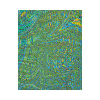 THE GOD EQUATION DIVIDED BY MINUS ONE CANVAS PRINT