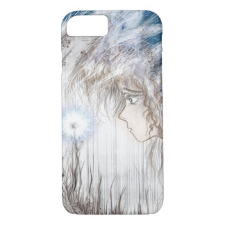 The Goddess and the Enchanted Flower Phone Case