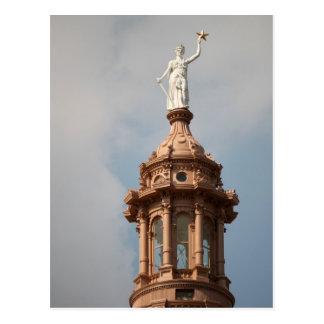 The Goddess of Liberty Postcard