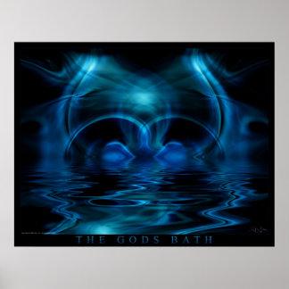 The Gods Bath Poster