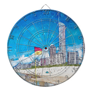 The Gold Coast Dartboard