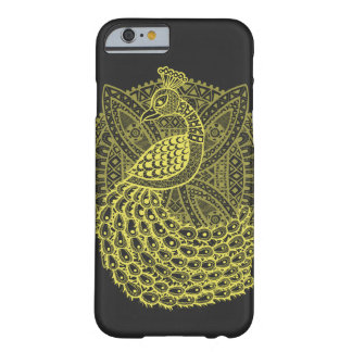 The Gold Peacock Barely There iPhone 6 Case