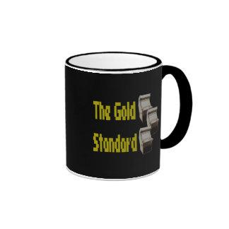 The gold standard arcade mugs