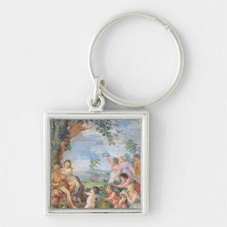 The Golden Age fresco Keychain