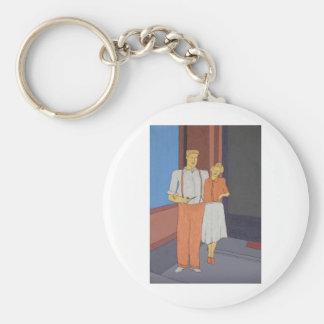 The Golden Age Of Bliss Basic Round Button Key Ring