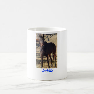 "The Golden Carrot Mug ""Laddie"""