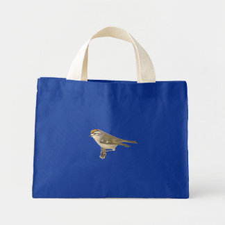 The Golden-crested Kinglet(Regulus satrapa) Tote Bags