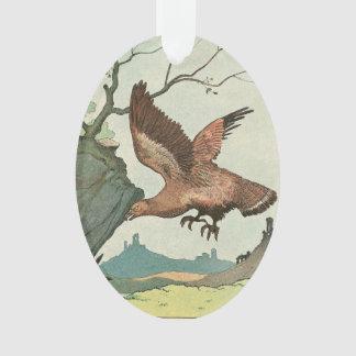 The Golden Eagle Story Book Illustration