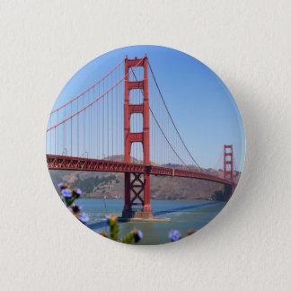 The Golden Gate 6 Cm Round Badge