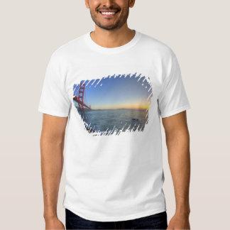 The Golden Gate Bridge at sunrise from Fort T Shirt