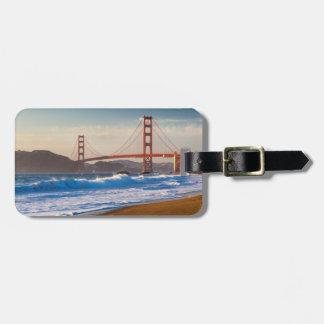 The Golden Gate Bridge From Baker Beach Bag Tags