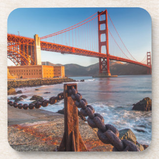 The Golden Gate Bridge From Fort Point Coaster