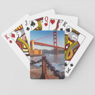 The Golden Gate Bridge From Fort Point Deck Of Cards