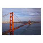 The Golden Gate Bridge from the Marin Photograph