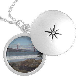 The Golden Gate Bridge San Francisco Necklace