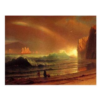 The Golden Gate by Albert Bierstadt Postcard