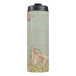 The Golden Gate Topographic Map Thermal Tumbler