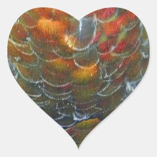 The Golden Goose Heart Sticker