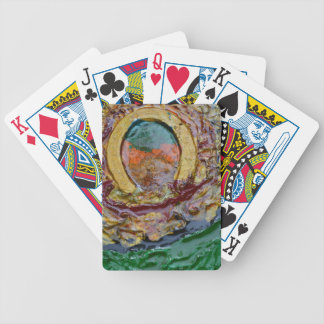 THE GOLDEN HORSE SHOE PLAYING CARDS