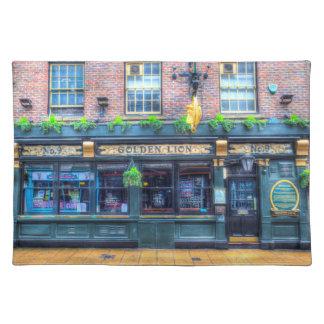 The Golden Lion Pub York Placemat