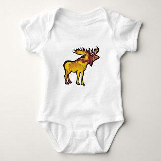 The Golden Moose Baby Bodysuit
