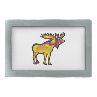 The Golden Moose Belt Buckle