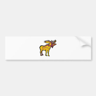 The Golden Moose Bumper Sticker