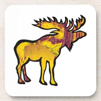 The Golden Moose Coaster