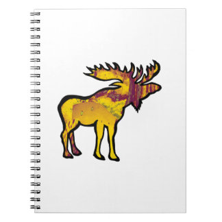 The Golden Moose Note Book