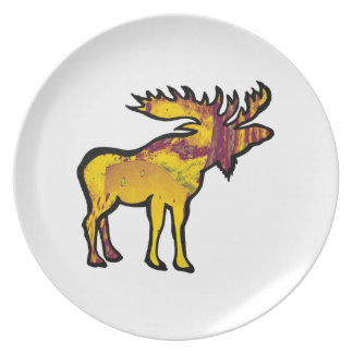 The Golden Moose Plate