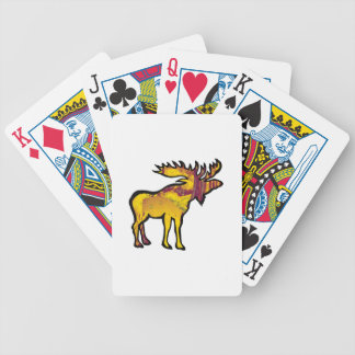 The Golden Moose Poker Deck