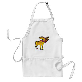 The Golden Moose Standard Apron