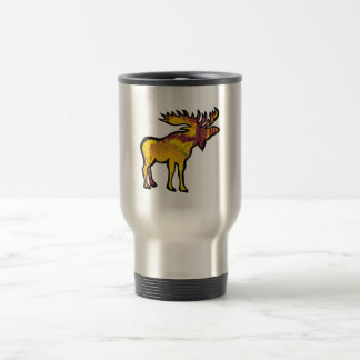 The Golden Moose Travel Mug