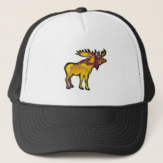 The Golden Moose Trucker Hat